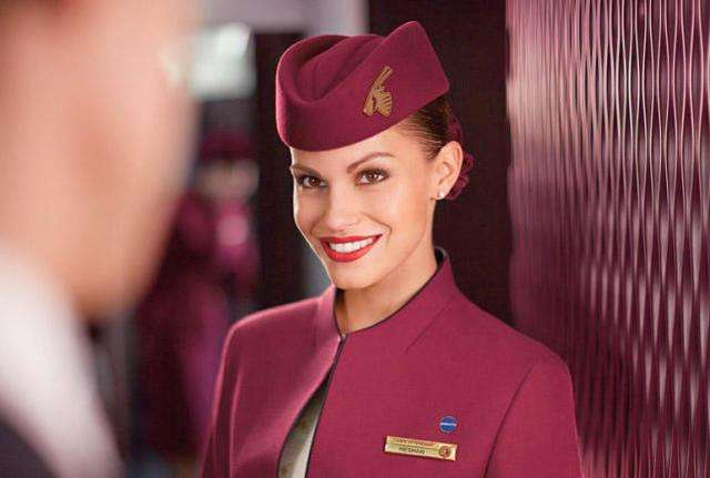 卡塔尔空姐1